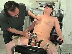 Dirty blond MILF Erica gets tied part3