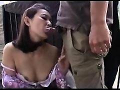 33yr old Ami Kikukawa Fucks on a Balcony (Uncensored)