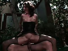 Sexy brunette girl loves to have her pussy stuffed