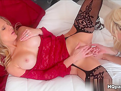 Fabulous pornstar Loren Nicole in Amazing Lesbian, Stockings porn video