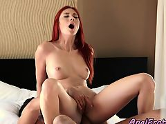 Passionately assfucked babe dickriding lover