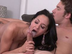 Passionate MILF Ava Addams with long black hair and big