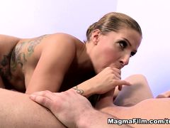 Samy Fox in A Perfect Pair Of German Tits And Ass - MagmaFilm