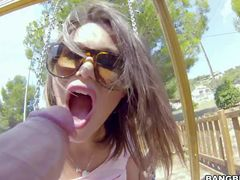 Cinthya Doll is a hot chick that hides her round