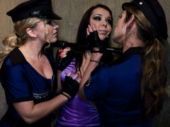 Crazy lesbian, fetish porn video with incredible pornstars Dia Zerva and Beverly Hills from Whippedass