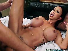 Hot Chick Jewels Jade Gets Shared By Masseurs