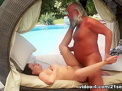 Crazy pornstars in Fabulous Brunette, Cunnilingus adult movie