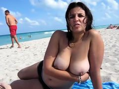 Amazing amateur Outdoor, Big Tits sex video