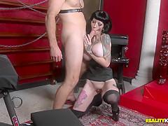 Amazing pornstars Levi Cash, Freyja Van Siren in Horny Brunette, BDSM sex video