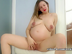 Fabulous pornstar in Horny Solo Girl, Pregnant adult movie