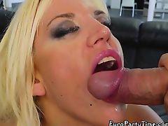 Sexy Sluts Enjoy Big Hard Cocks And Facial