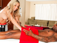 Madelyn Monroe & Rob Piper in Caught Sneaking Chocolate Video