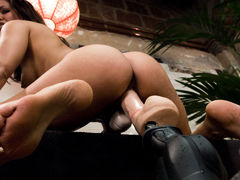 Incredible squirting, fetish xxx movie with amazing pornstar Isis Love from Fuckingmachines