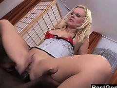 Lingerie-clad blond sluts drive Nico wild and this one 's