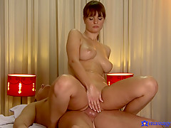 Horny pornstars Sofia Solana, Patrick in Crazy Big Tits, Redhead adult video