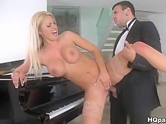 Incredible pornstar in Horny Stockings, Hardcore porn scene