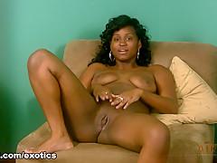 Hottest pornstar in Amazing Black and Ebony, Solo Girl porn video