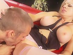 Incredible pornstar Cindy Behr in crazy big tits, cumshots sex clip