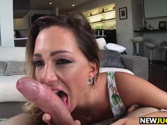Big Tit Blonde Destiny Dixon Begs for Cocks