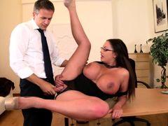 Incredible pornstar Emma Butt in fabulous mature, big tits sex scene