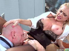 Johnny Sins is finally having some domination over his bossy