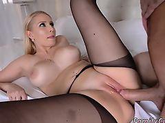 Father in law seduces companion's daughter xxx Birthday Sex,