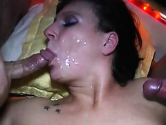 mature loves cum