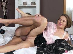Martynez Manned & Sasha Zima in Housewife Dominates Her Sub Husband - MomXxx