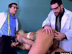 LEROYZ - Two Doctors Fuck Ryan Connor in the Ass