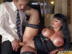 Kerry Louise is a sex obsessed busty teacher with dirty