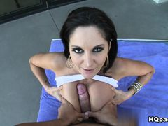 Gianna Michaels, Charlie James, Ramon Nomar in Poolside pussy Movie