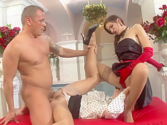 Horny pornstar in hottest threesome, brazilian xxx video