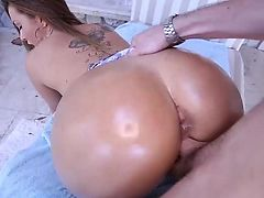 Naughty big Ass Latina sucking and fucking