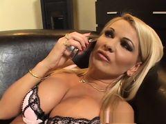 Exotic pornstar Silvia Monti in best mature, facial porn movie