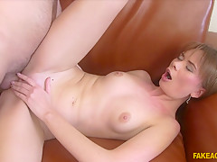Best pornstar in Fabulous Casting, Redhead porn clip