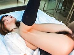 Incredible Japanese girl in Exotic JAV uncensored Teen movie