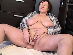 Giant breasted mature milf playing Mora from 1fuckdatecom