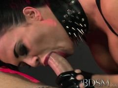 BDSM XXX Caged subs are humiliated before sex