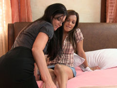 India Summer & Francesca Le in Lesbian PsychoDramas #08, Scene #02