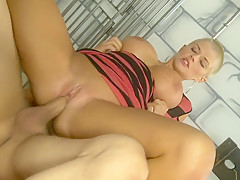 Horny pornstar Joslyn James in fabulous big tits, blonde porn clip