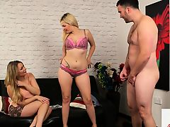 British domina duo instruct their submissive