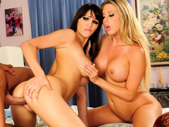 Holly Michaels,Samantha Saint In Couples Camp 2, Scene 5