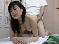 Masseur taking of Asian girl panty and massages her cunt dvd 12