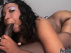 Monster shaft for an ebony harlot