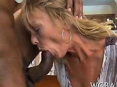Horny sweethearts are dying to suck hunk's black male shlong