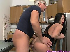 Anal ass babe sucks cock